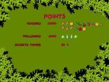 Melker: The Elk Hunt Windows Atthe end of the level the player's score is displayed. Looks like a bonus item was missed.