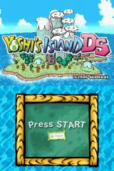 Yoshi's Island DS Nintendo DS Title screen