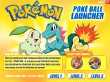 Pokémon: Poké Ball Launcher Windows Game menu