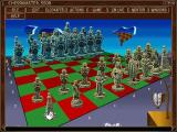 Chessmaster 5500 Windows This is the Surrealist board being used with the Mexican set of chessmen