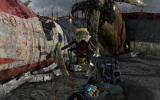 Metro: Last Light Windows Near the ruins of a plane you fight a terrifying mutated creature