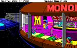 Space Quest III: The Pirates of Pestulon Amiga There's all sorts of aliens here at Monolith Burger.