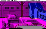 Space Quest III: The Pirates of Pestulon Amiga A huge base.