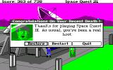 Space Quest III: The Pirates of Pestulon Amiga Getting turned into jello by Scum Soft jerks.
