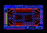 Guardians Amstrad CPC The game arena.
