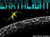 Earthlight ZX Spectrum Title screen