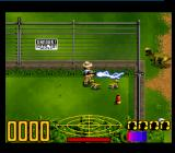 Jurassic Park SNES Zapping some dinos.