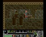 Cedric and the Lost Sceptre Amiga When you walked through the door, you are inside a building or in a corridor that links different section of the town.