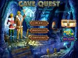Cave Quest iPad Main menu