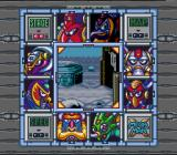 Mega Man X SNES The stage select screen.