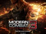 Modern Combat 3: Fallen Nation iPad Title screen