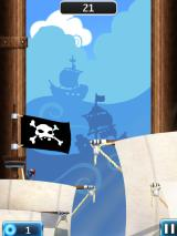 NinJump Deluxe iPad Pirate level