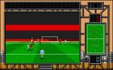 International Soccer Challenge Atari ST Watching the small ball at the opposite box waiting for the game to zoom in.