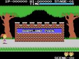 Cabbage Patch Kids Adventures in the Park ColecoVision Beginning the game