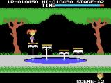 Cabbage Patch Kids Adventures in the Park ColecoVision Hopping across some water fountains
