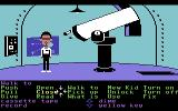 Maniac Mansion Commodore 64 Telescope.