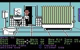 Maniac Mansion Commodore 64 Bathroom.