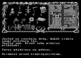 Inny Świat Atari 8-bit Escape from the werewolves in the forest