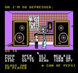 Maniac Mansion NES Green Tentacle's room.