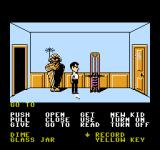 Maniac Mansion NES A mummy and an exercise machine. A weird combo.
