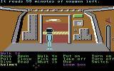 Zak McKracken and the Alien Mindbenders Commodore 64 Inside the Space Hostel.