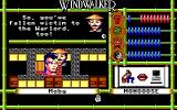 Windwalker Amiga If you are defeated by the Warlord's guards, you will end up in prison.