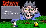 Asterix: Operation Getafix Amiga Title screen.