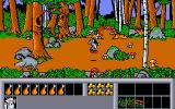 Asterix: Operation Getafix Amiga Wandering the woods with the native wild life.