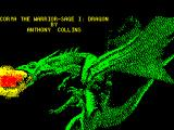 Corya the Warrior-Sage ZX Spectrum Title screen for the first part
