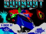 Gunboat ZX Spectrum Title screen