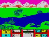 Gunboat ZX Spectrum Starting off under fire