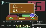Beyond Castle Wolfenstein Commodore 64 Title