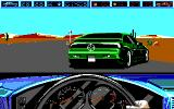 Highway Patrol II DOS Targeting the green car (EGA)