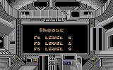 Project Neptune Commodore 64 Choose a level.