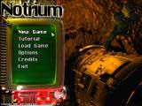 Notrium Windows Main menu.
