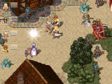 Leithian: In the Abyss Windows A boss battle at a town square