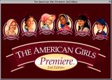 The American Girls Premiere: 2nd Edition Macintosh Title screen.