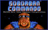 Suburban Commando Amiga Loading screen.