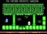 Turbican Atari 8-bit First floor chamber 1 tomb stone