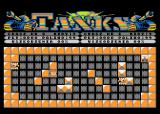 Tanks Atari 8-bit Level 1