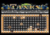 Tanks Atari 8-bit Enemy tank goes for victory