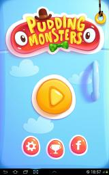 Pudding Monsters Android Title screen
