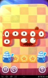 Pudding Monsters Android Now just slide them down and we won