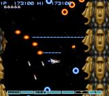 Gradius III SNES The level design gets more and more trippy as you go.