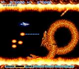 Gradius III SNES The boss: a two-headed dragon