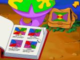Freddi Fish 3: The Case of the Stolen Conch Shell Windows Find the tourist's flag in this book and you will be able to understand each other.