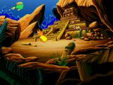 Freddi Fish 3: The Case of the Stolen Conch Shell Windows The trail leads to this ancient temple...