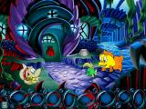 Freddi Fish 5: The Case of the Creature of Coral Cove Windows Finding the sea monster is not enough, the real solution is found in Marty's house.