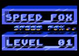 Speed Fox Atari 8-bit Title screen