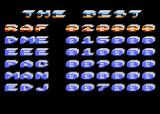 Speed Fox Atari 8-bit High score table